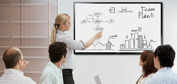 IC Datacom can provide you with a smart board